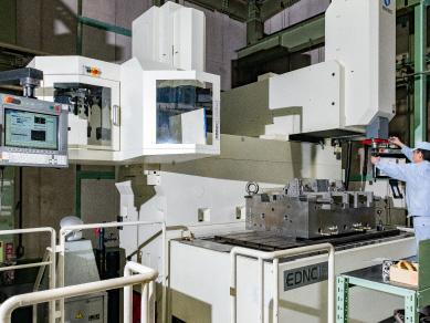 射出成型機をはじめとして、検査・測定機器も取り揃えています