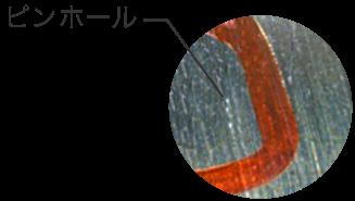 北辰金型工業所のレーザー溶接技術でピンホールの補正も可能です