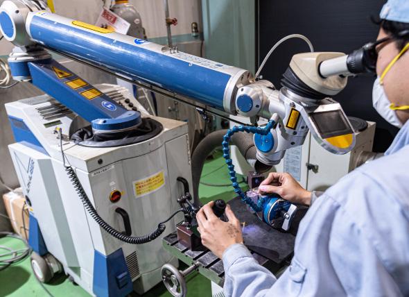 北辰金型の品質管理は三次元測定機を利用しています